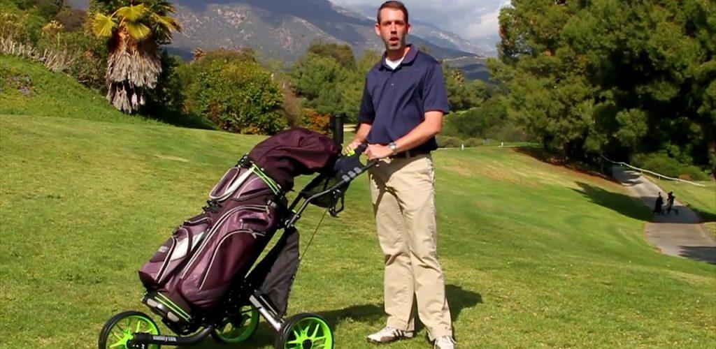 avis chariot golf ezfold caddytek